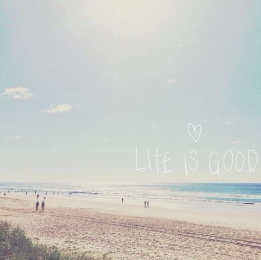 life is good beach - mine