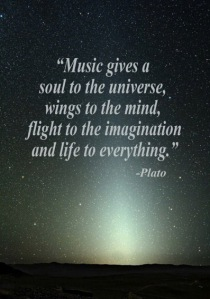 Music quote by Plato