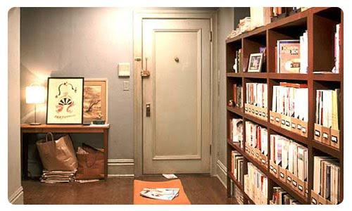Apartamento-Carrie-Carries-Apartment-Sex-and-the-city-Sexo-en-Nueva-York-Entrada-Hall