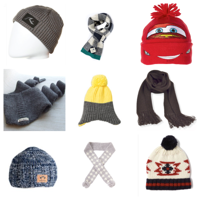 Check it out- Beanies and scarves