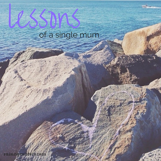Lessons of a single mum